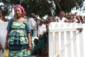 The Water Project:  Deputy Head Teacher Making Statement
