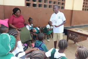 The Water Project:  Students Teaching Community Health