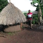 The Water Project: Kaitabahuma I Community -  Standing Next To The Bathing Shelter