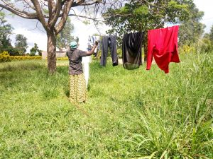 The Water Project:  Hanging Clothes