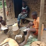 The Water Project: Rubona Kyawendera Community -  Preparing A Meal