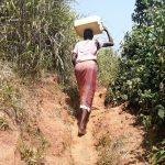 The Water Project: Ejinga Taosati Community -  Carrying Water