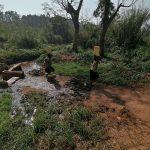 The Water Project: Ejinga Taosati Community -  Children Carrying Water
