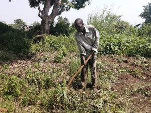 The Water Project:  Digging Farm