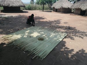 The Water Project:  Making A Mat