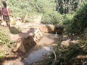 The Water Project:  Nearest Protected Spring