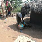 The Water Project: Ejinga Taosati Community -  Washing Dishes