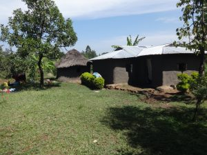 The Water Project:  A Household Compound