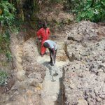 The Water Project: Bukhaywa Community, Ashikhanga Spring -  Site Excavation