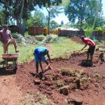 The Water Project: Gamalenga Primary School -  Excavation Of The Tank Site