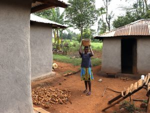 The Water Project:  Community Member At Her Homestead
