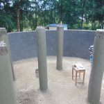 The Water Project: Friends Kuvasali Secondary School -  Tank Pillars Construction