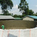 The Water Project: Makale Primary School -  Cement Progress Inside