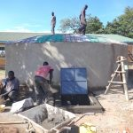 The Water Project: Friends School Mahira Primary -  Dome Cut To Size And Access Point Work