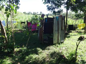 The Water Project:  Bathing Shelter And Clothesline