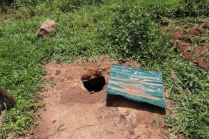 The Water Project:  A Hole In The Ground Used As A Latrine