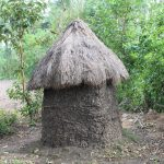 The Water Project: Litinye Community, Shivina Spring -  Traditional Latrine