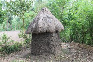 The Water Project:  Traditional Latrine