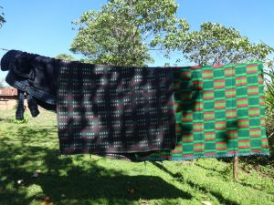 The Water Project:  Beddings Drying