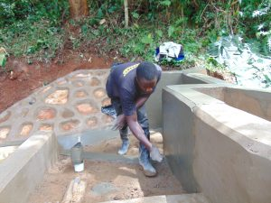 The Water Project:  Stair Construction And Plastering
