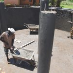 The Water Project: Gamalenga Primary School -  Plastering Interior Pillars