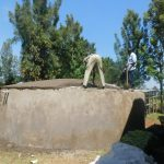 The Water Project: St. Peter's Khaunga Secondary School -  Dome Work