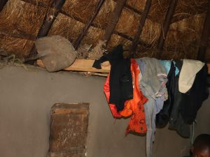 The Water Project:  Clothes Drying Inside A House