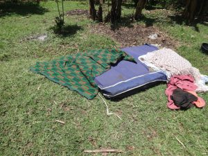 The Water Project:  Beddings Being Dried