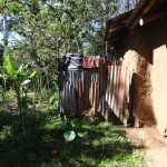The Water Project: Mahira Community, Kusimba Spring -  A Bathing Shelter