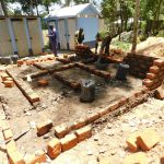 The Water Project: St. Peter's Khaunga Secondary School -  Latrine Construction