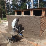 The Water Project: Friends School Mahira Primary -  Latrine Stalls Take Shape
