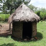 The Water Project: Mahira Community, Litinyi Spring -  Calf Shed