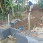 The Water Project: Bukhaywa Community, Ashikhanga Spring -  Backfilling With Soil