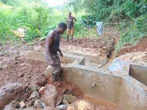 The Water Project:  Clay Works In Backfilling