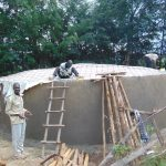 The Water Project: Friends Kuvasali Secondary School -  Dome Construction