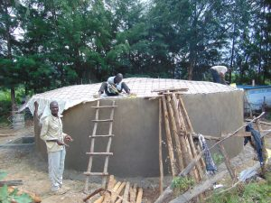 The Water Project:  Dome Construction