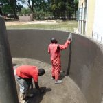 The Water Project: Friends Secondary School Shirugu -  Interior Plastering