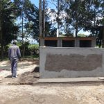 The Water Project: Friends School Mahira Primary -  Finishing Work On Latrines