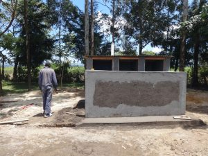 The Water Project:  Finishing Work On Latrines