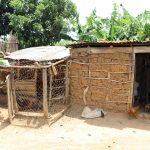 The Water Project: Mukhuyu Community, Chisombe Spring -  Kitchen And Poultry House