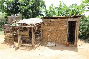 The Water Project:  Kitchen And Poultry House