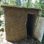 The Water Project: Mahira Community, Kusimba Spring -  Latrine