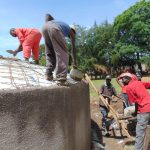 The Water Project: Friends Secondary School Shirugu -  Dome Work