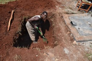 The Water Project:  Digging The Soak Pit