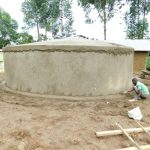 The Water Project: Makale Primary School -  Dome And Tank Skirt Work