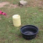 The Water Project: Litinye Community, Shivina Spring -  Handwashing Basin