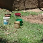 The Water Project: Mahira Community, Kusimba Spring -  Handwashing Containers