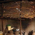 The Water Project: Harambee Community, Elijah Kwalanda Spring -  Firewood Storage Inside The Kitchen