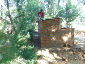 The Water Project:  Roofing Of The Latrines