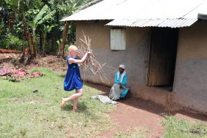 The Water Project:  A Girl Collecting Firewood